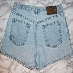Calvin Klein High Waist Jean Shorts
